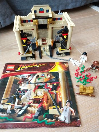 LEGO Indiana Jones 7621 The Lost Tomb. Unikat!