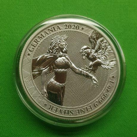 НОВИНКА!!! Германия с орлом 2020 2-й релиз Germania Mint