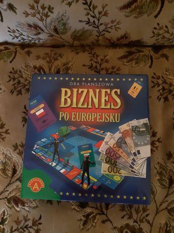 Gra planszowa Biznes Po Europejsku