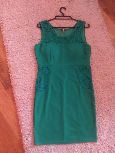 Zielona sukienka S