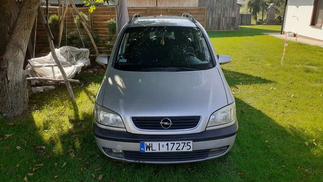 Opel Zafira A 1.8 16v sekwencja