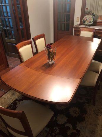Mesa de jantar Madeira cerejeira