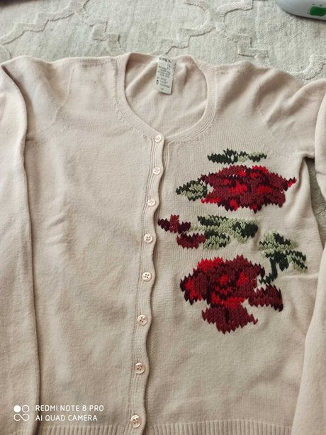 Sweter rozpinany