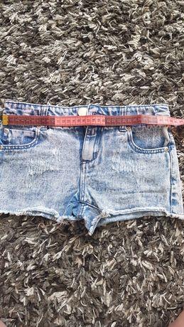 Джинсові шортики та юбка р.134