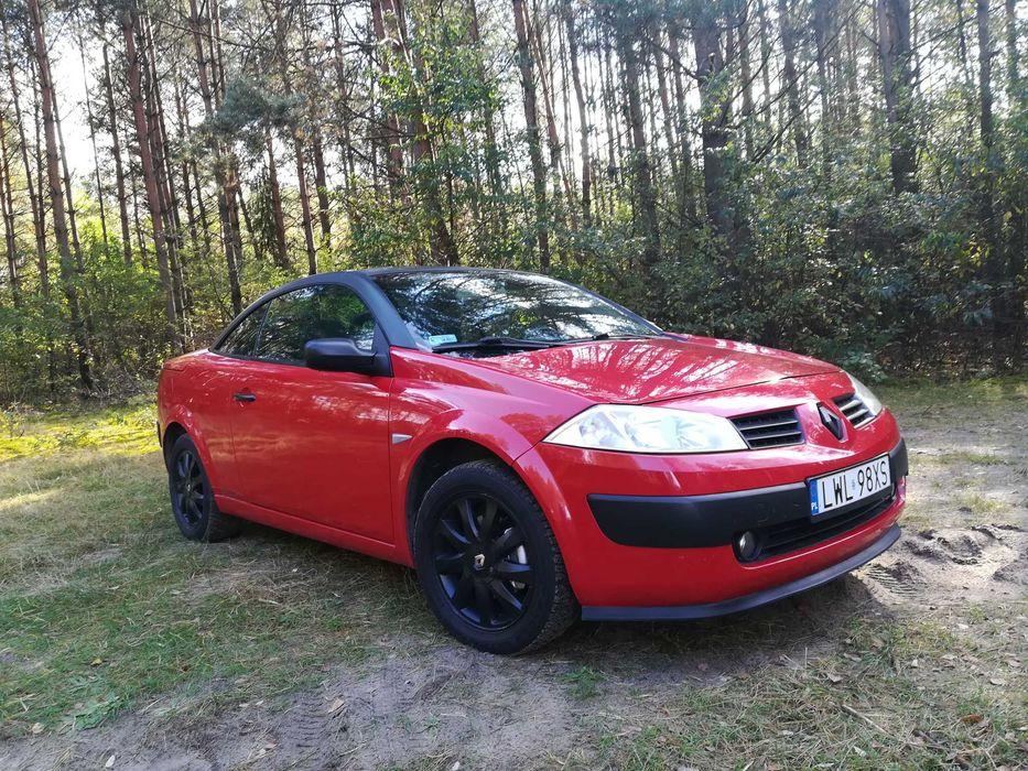 Stylowe Piękne Megane coupe cabrio super stan opłaty na rok Włodawa - image 1