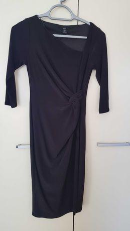 Nowa,czarna elegancka sukienka.