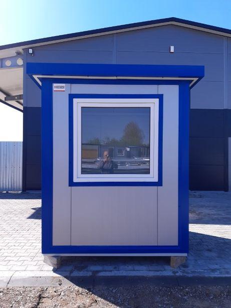 kontener biurowy stróżówka biuro wartownia budka ochrony kiosk sklep
