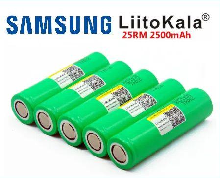 Аккумулятор Samsung 18650 INR18650 25R Liitokala 2500mAh Высокотоковые