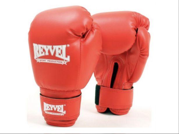 Reyvel боксерские перчатки и защита голени комплект