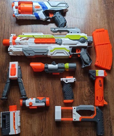 NERF zestaw MODULUS ECS-10 + Strongarm