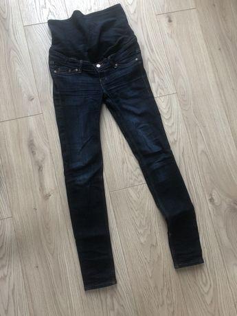 Spodnie ciążowe H&M mama, jeansy ciazowe