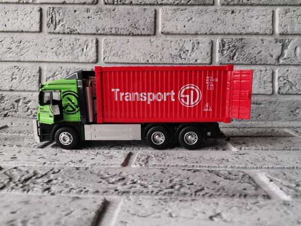 Фуры_ грузовики  металл Автосвіт  22,5 см свет,звук, инерция