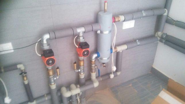 Oczyszczalnia ekologiczne  hydraulik szambo montaż uslugi koparka