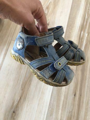 Кожаные сандалии Dd step
