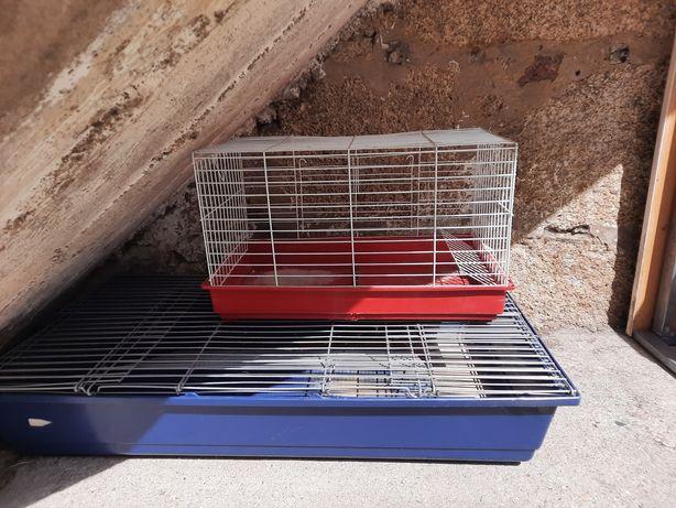2 Gaiolas para coelho ou hamster
