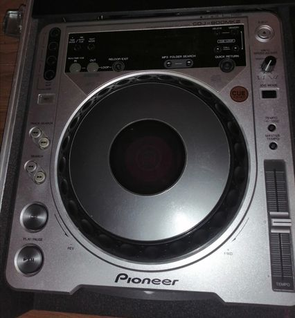 2x cdj Pioneer 800 mk2 + case
