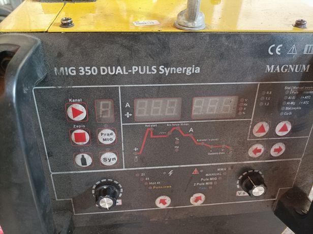 MAGNUM MIG 350 DUAL PULS Synergia. Spawarka