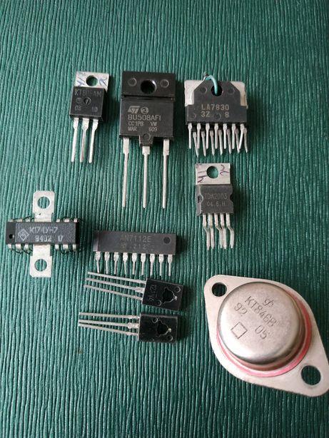 Радиодетали Транзисторы - микросхемы!!!