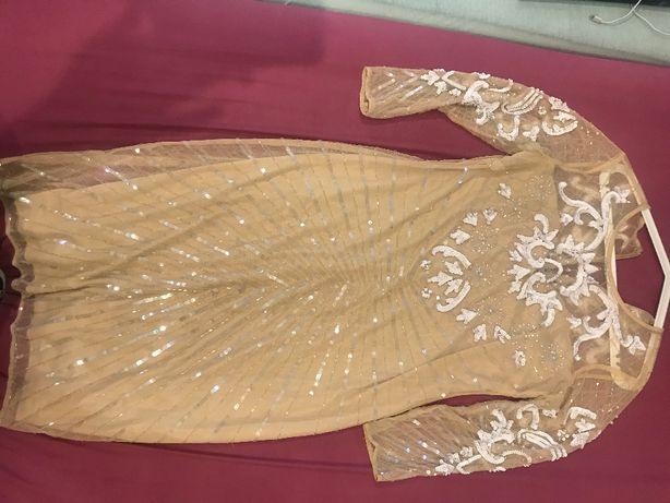 Sprzedam piękna sukienke dla mamy Pani Młodej r.40