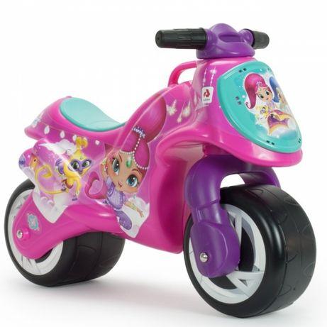 rowerek biegowy Śliczny różowy Jeździk MOTOR Odpychacz Shimmer i Shine