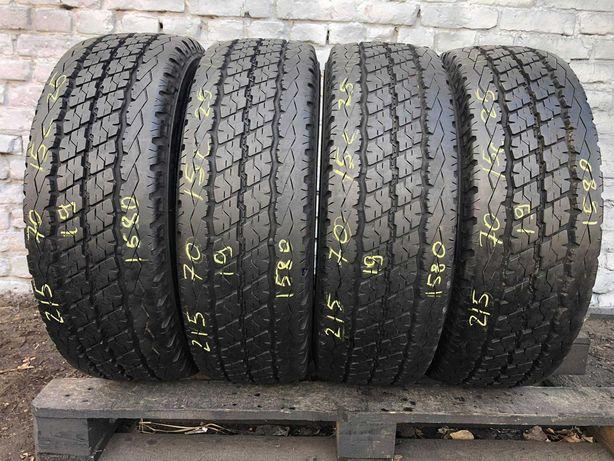 2019рік Літні шини 215/70 R15с Bridgestone Duravis  4ШТ 10mm