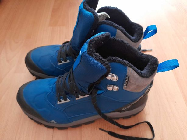Buty zimowe quechua jak nowe ! 42