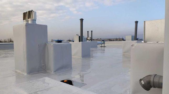 Dachy płaskie, balkony, tarasy - pokrycia dachowe ,membrany PCV, EPDM