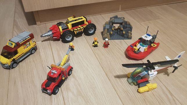 Klocki lego City nr zestawów 60186,60086,60137,60150+ zabawka gratis