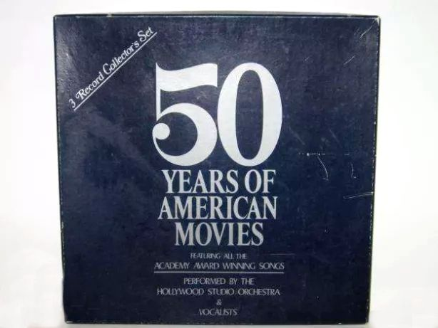 50 Years of American Movies - 1934/1960 (3 LP Box)