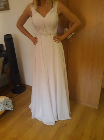 Sukienka Ślubna r.38