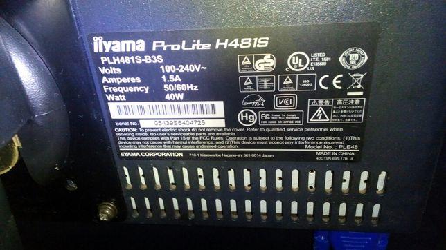 Monitor komputerowy iiyama plh481s proline kolor. 19 cali. Na podstwce