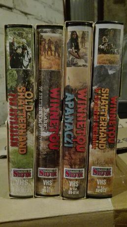 Winnetou 4 x kaseta VHS