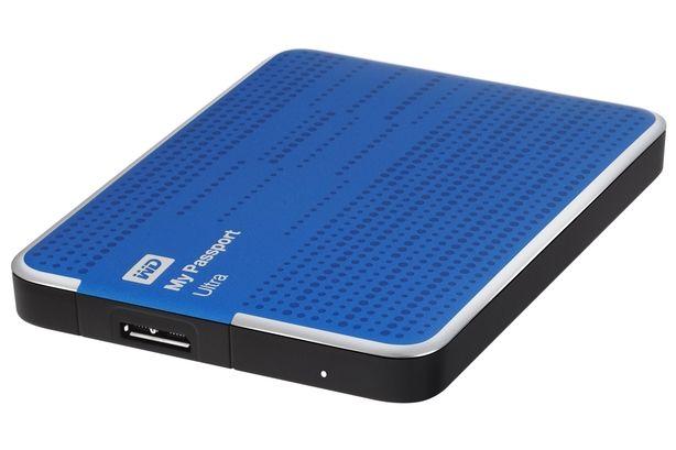 Dysk zewnętrzny 2TB My Passport Ultra WD - Niebieski