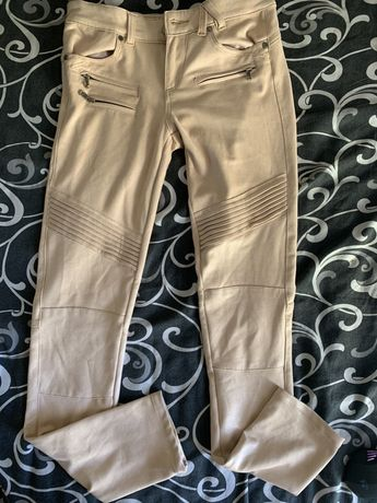 Штаны брюки розовые