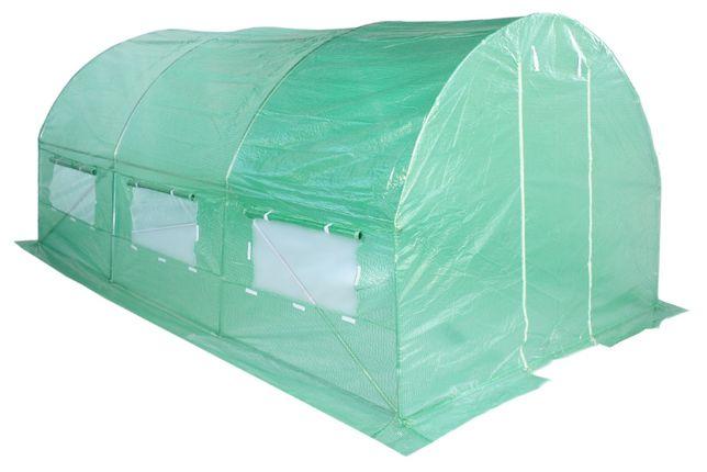 Tunel foliowy 2x3,5x2m.zielony Ogrodniczy Ogrodowy Szklarnia