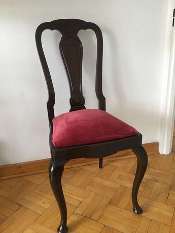 Krzesła 2 antyk tapicerowane