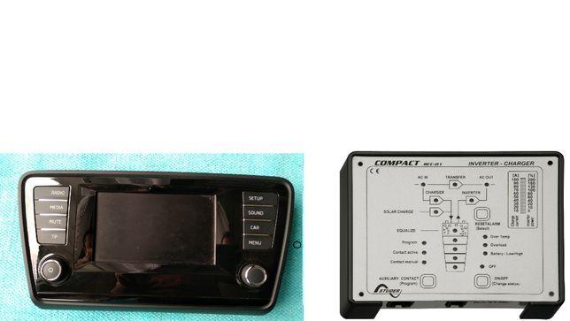 Zamienię panel radia na panel Studer RCC 01 Steca compact.