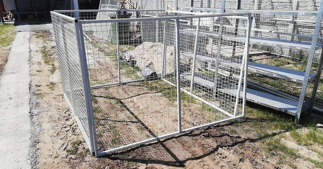 Kojec dla psa o wymiarach 2mx2m