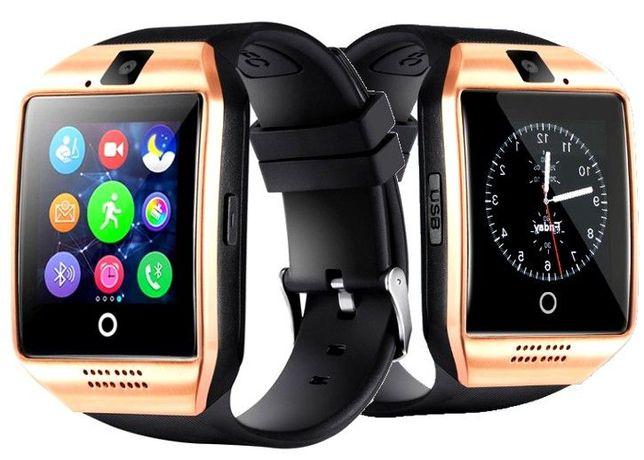 Smartwatch Q18 z Bluetooth pod telefon MicroSD slot karty SIM