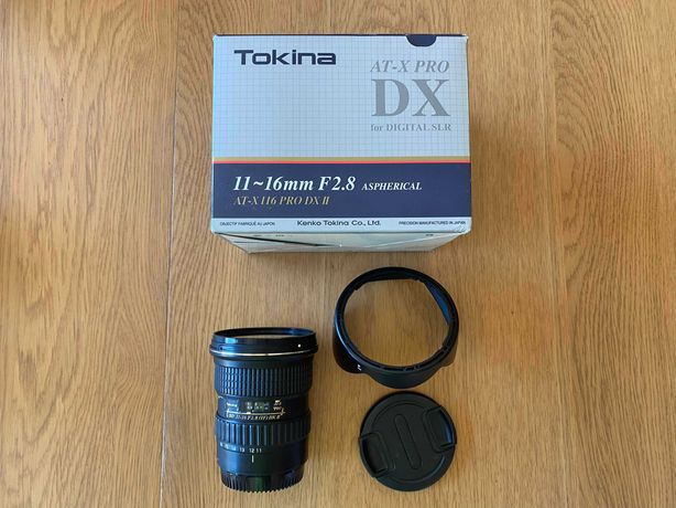 Tokina 11-16mm F2.8 PRO DX II (série 2) (Canon)