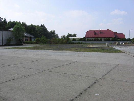 Plac Działka Parking Rawicz Sierakowo