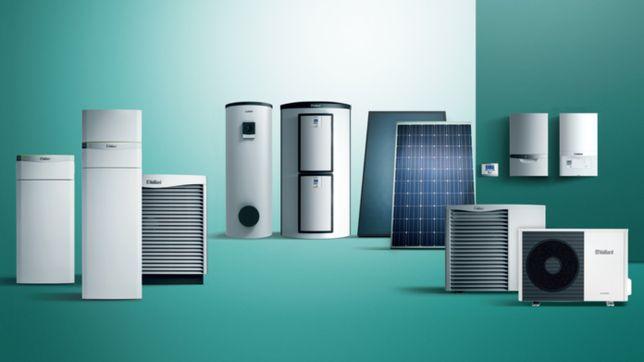 Газовые и электро котлы Vaillant, Protherm (тепловые насосы)