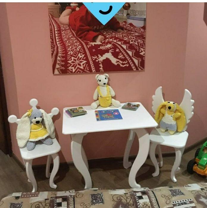Стол и стул в детскую Одесса - изображение 1