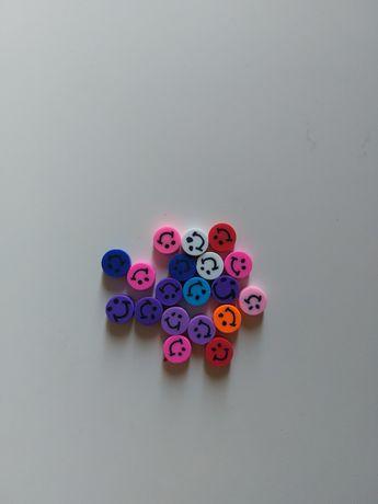 Missangas Smiles Frutas Flores Yin Yang 10mm