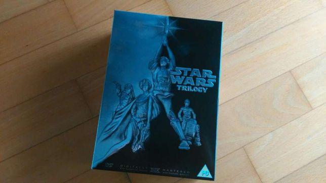 Trilogia Guerra das Estrelas DVD