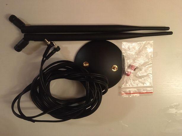 Antena LTE 4G dual magnetyczna do modemow GSM wzmacniająca