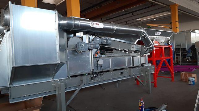 Separatory powietrzne do recyklingu