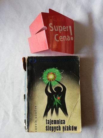 """książka """"tajemnica ślepych ptaków"""" Ludvik Soucek BIAŁY KRUK"""