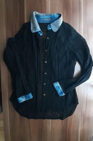Bluzka,koszula z koronki M/L