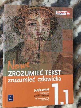 Zrozumieć tekst zrozumieć człowieka 1.1 podręcznik do języka polskiego